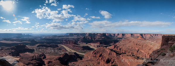 Dead Horse Point - overlooking Colordo River