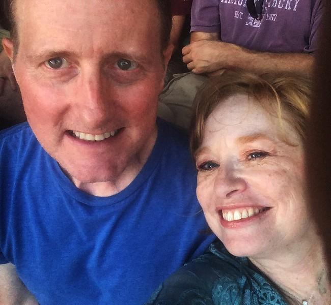 Me & Cheri, Wrigley field at Dead & Co.
