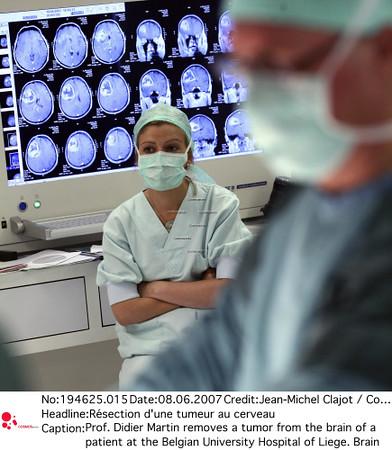 Résection d'une tumeur au cerveau