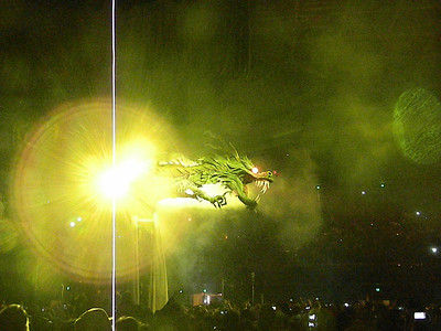 The Dragon Brings The New Year 31 December 2011