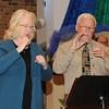 Davind Cassanova and Elizabeth White signing responsorial psalm