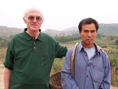 John Blake from Canada, visiting with an isolated deaf Christian out in the country in China.  He has never been able to go to a school for the deaf, and knows only home signs.  He is active in helping in his agricultural village setting.