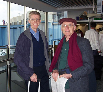 Pastor Fred Griffith, a pastor for the Deaf (whose parents are deaf) from California, met Pastor Blake (of the Gospel Outreach Deaf Dept.) in Germany, and they flew together to India to meet with deaf in January, 2007