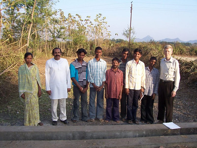 A new church for deaf is now being built at Pedabondapalli in Andhra Pradesh.  This is the 4th church for deaf and funding has now been sent for two more churches - one near here and one at Pattukottai in South India.  There are requests for others and we need funding for more!
