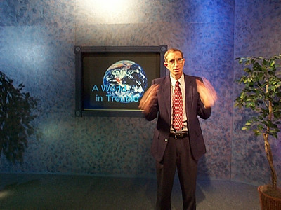 Pastor Trexler used hundreds of pictures and texts to illustrate his 26 Bible TV programs in sign language.  Many of the texts were shown using Easy English versions of the Bible - so his lectures could be more easily understood. The lectures are available on either video tape or DVD.