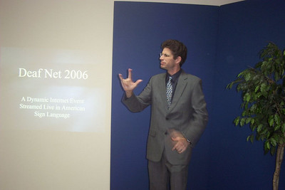 "Pastor Jordan had a ""live"" evangelistic series in Atlanta in the Fall of 2006 and it was also broadcast over the internet.  If you want to watch sermons by Pastor Jordan, go to: http://www.deafchurchonline.org/  and click on ""Sermon Videos"""