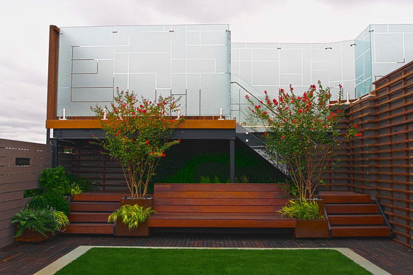 Outdoor Living Experience on a Brooklyn Rooftop