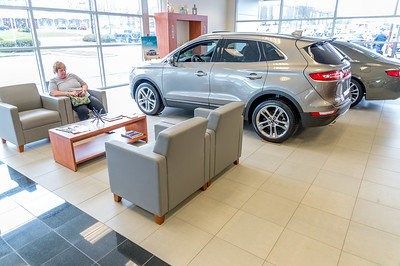 Showroom customer lounge