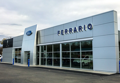 Ford brand wall