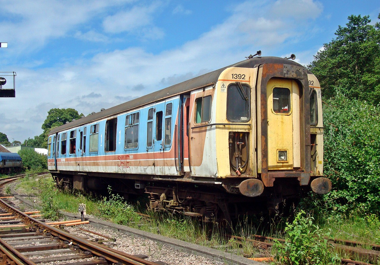 BR 76811 Driving Trailer Composite of 4-CIG EMU (scrapped) 11,06,2010