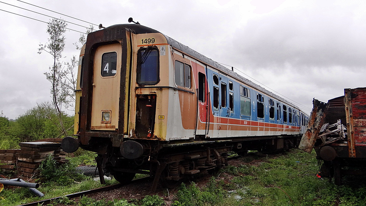 BR 76797 Driving Trailer Composite (EMU) 14,05,2013. (Now Scrapped)