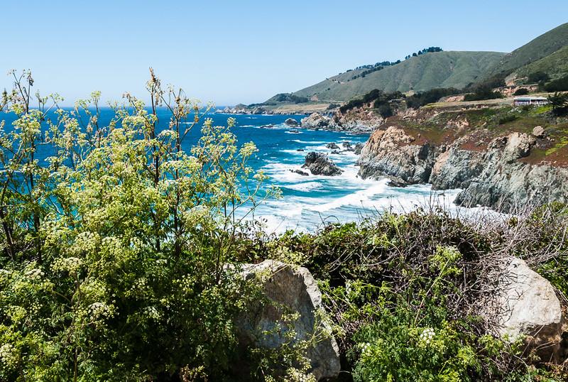 More coast line close to Monterey