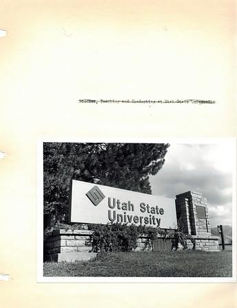 Dean's scrapbook photos title pages