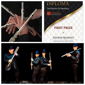 """""""Preparation, Performance, and Recording of 12 Memorized and Choreographed Works for Four Flutes from 1100-2020"""" by Jacey Crayton"""