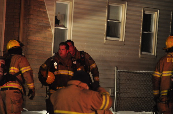Dearborn Fire - Monroe and Notre Dame