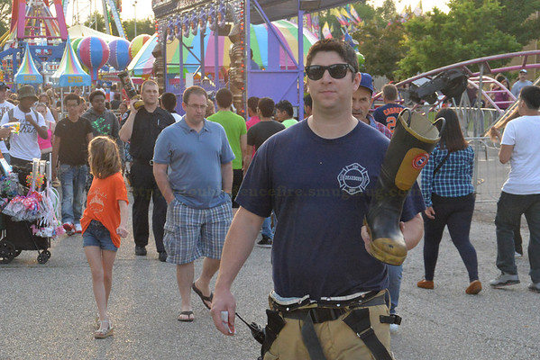 Dearborn Firefighters at 2014 Melvindale Days