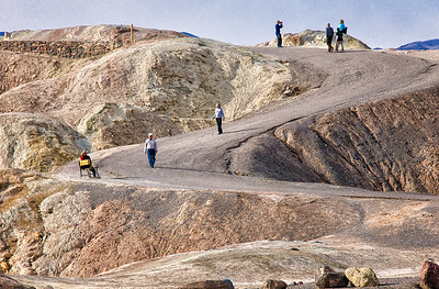 Richards___Walking the paths of Zabrisly Point Death Valley