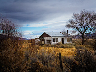 Kemmerer___An Abandoned House in Owens Valley