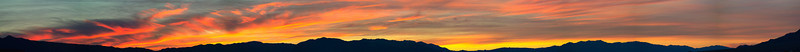 Sunrise from near dunes. Bit out of focus and all auto-pano tools totally failed on this so I put it together semi-manually in PS3.