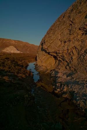 Salt Creek sunset