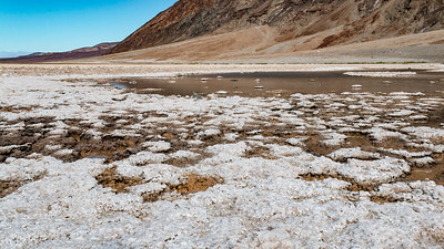 Badwater, elevation 282 below sea level