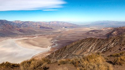 Death Valley Salt Flats from Dante's View