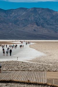 Badwater, Big Crowd, elevation minus 282
