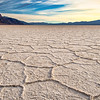 Day's End at Badwater Salt Flat