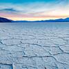 Badwater Salt Flats at Sunset