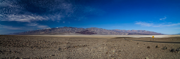 Panorama of Death Valley