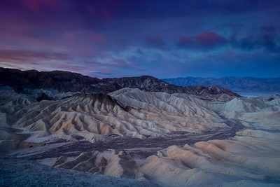 Dawn, Zabriskie Point, Death Valley, California