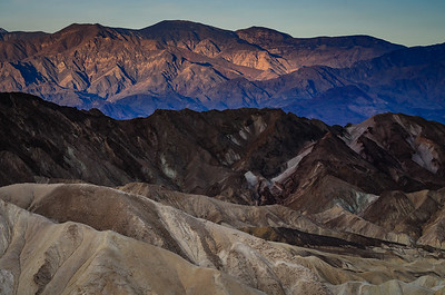 Sunrise at Death Valley, Zabriskie Point