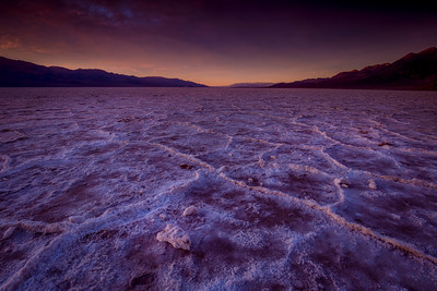 Sunset, Badwater Basin