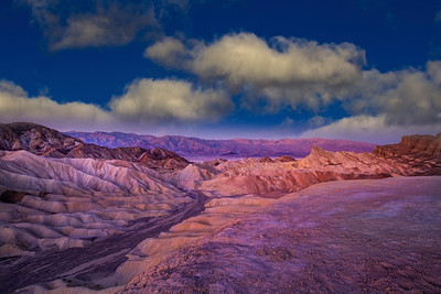Cloudy Blue Sky, Zabriskie Point