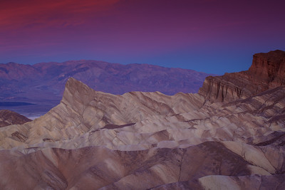 Sharks Tooth At Dawn, Zabriskie Point