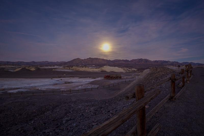Borax Works In Moonlight