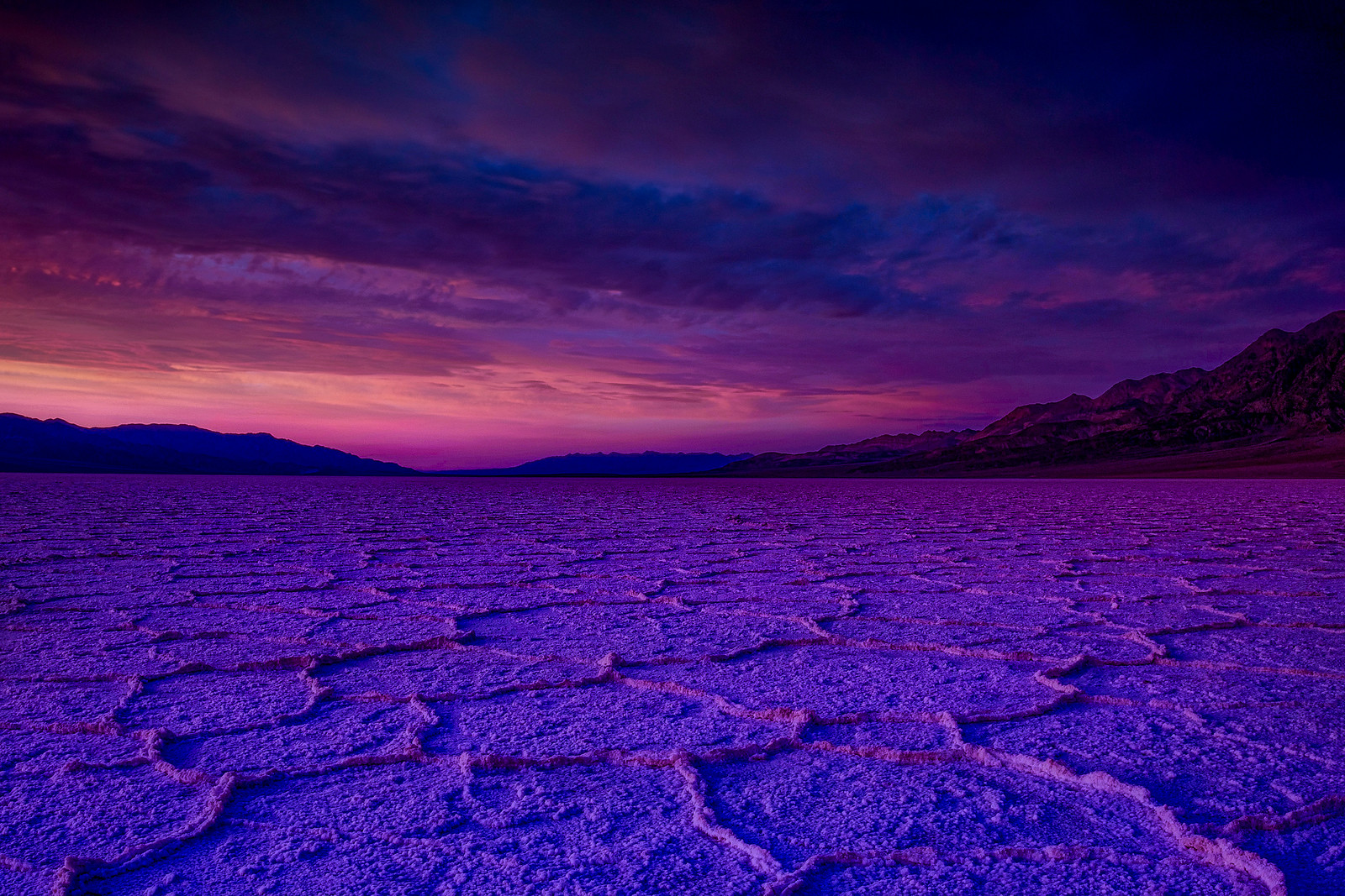 Ominous Sky Over Badwater Basin
