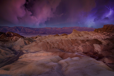 Storm Over Zabriskie Point
