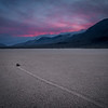Sunset at the Racetrack, Death Valley National Park, California