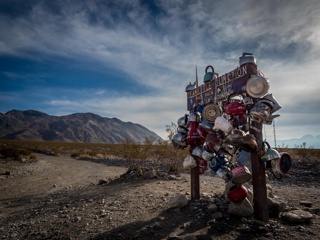 Teakettle Junction, Death Valley National Park, CA