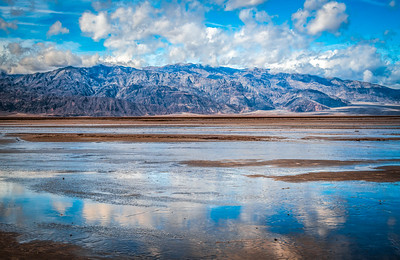 Death Valley Lake 1: Elliot McGucken Death Valley National Park Fine Art Landscape Nature Photography