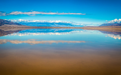 Death Valley Lake 11: Elliot McGucken Death Valley National Park Fine Art Landscape Nature Photography Prints & Wall Art