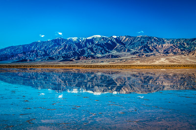 Death Valley Lake 2: Elliot McGucken Death Valley National Park Fine Art Landscape Nature Photography