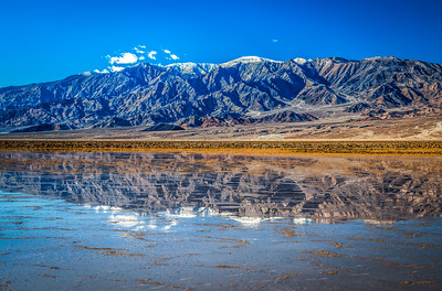 Death Valley Lake 5: Elliot McGucken Death Valley National Park Fine Art Landscape Nature Photography Prints