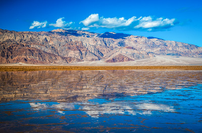 Death Valley Lake 7: Elliot McGucken Death Valley National Park Fine Art Landscape Nature Photography Prints