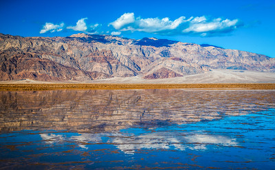 Death Valley Lake 6: Elliot McGucken Death Valley National Park Fine Art Landscape Nature Photography Prints