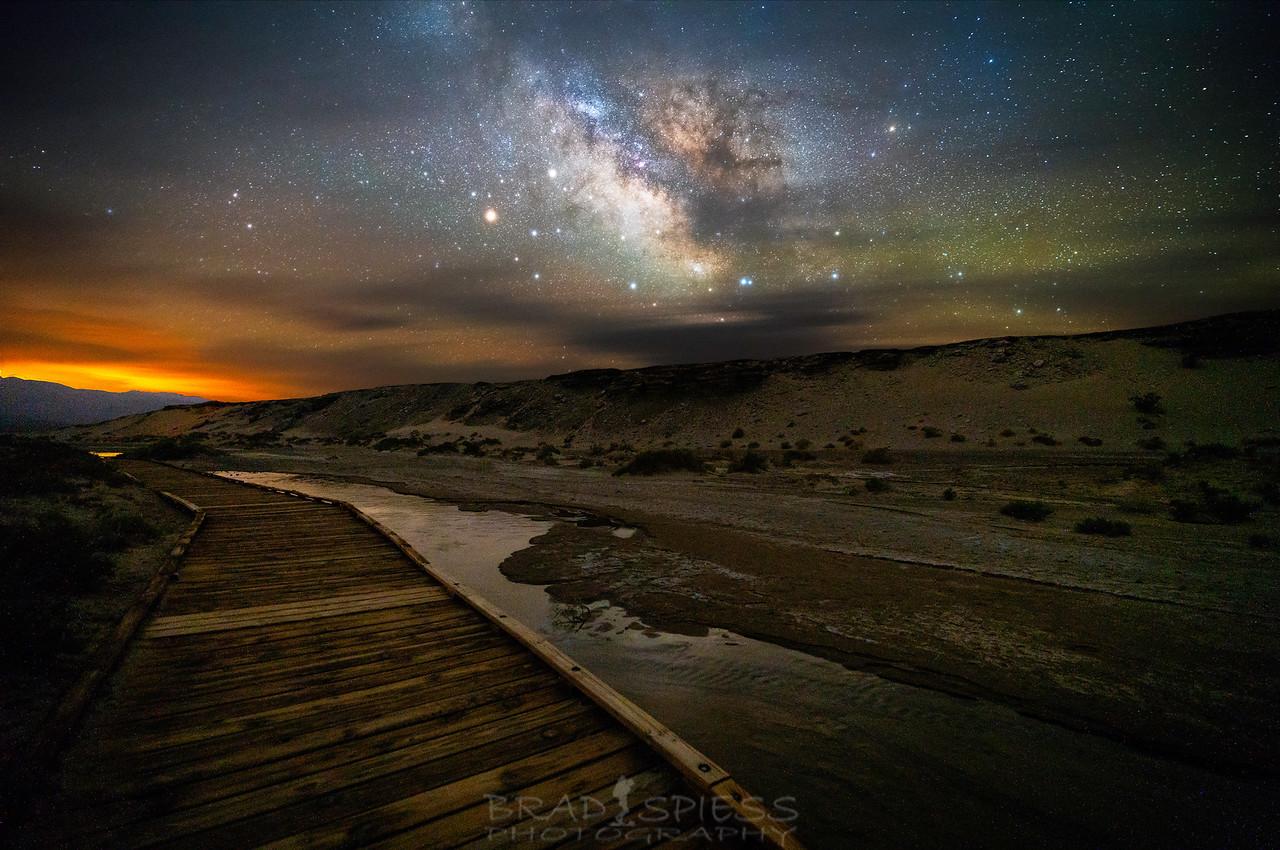 Salt Creek Milky Way