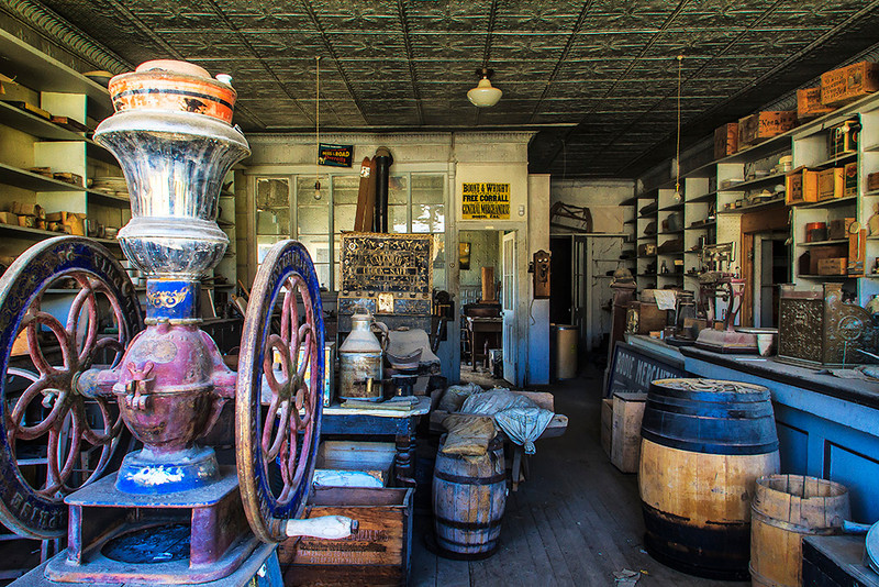 Bodie Mercantile at the Bodie National Historic Site - Eastern Sierra Tour - Jerry Negele - August 2012