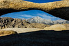 Eastern Sierras from the Alabama Hills - Eastern Sierra Tour - Jerry Negele - August 2012
