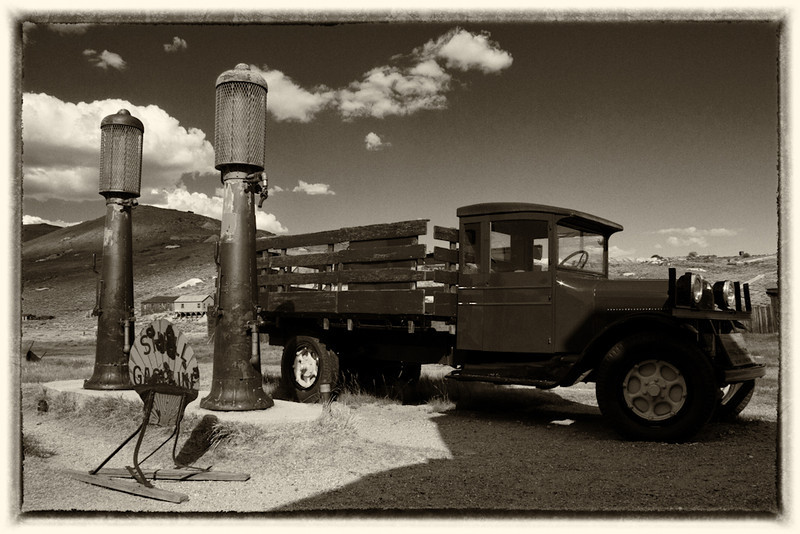 Out of Gas - Bodie State Historic Park, California - D'An Holmes Glueckert - August 2012